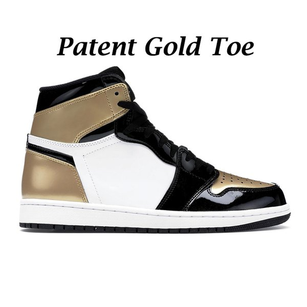 Patent Gold Toe