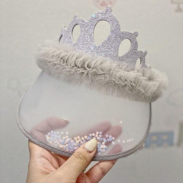 Faixa de Cabelo Cap Crown Grey