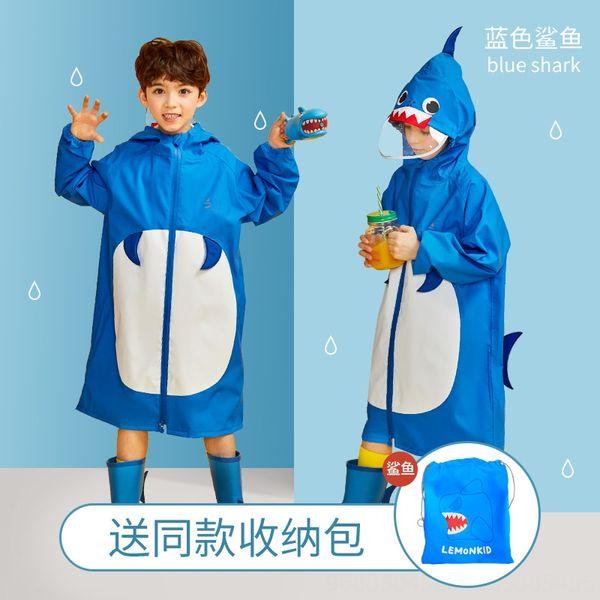 Tridimensional Estilo Raincoat azul-Sh