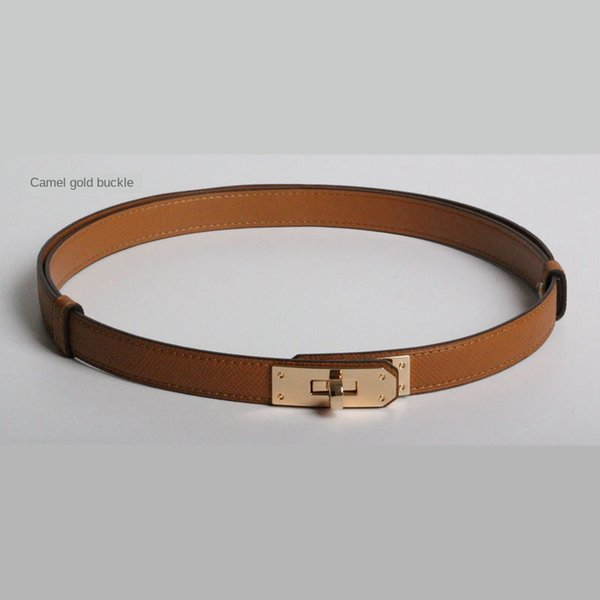 1Pcs_#Camel/Gold buckle_ID915058
