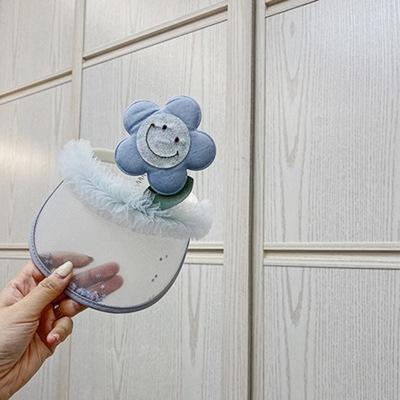 Saç Bandı Şapka Ayçiçeği Mavi