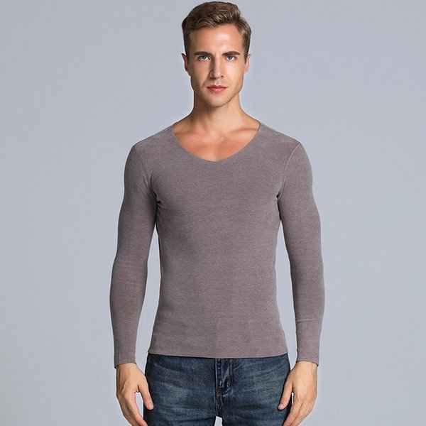 V-neck Top Pele-friendly Camel