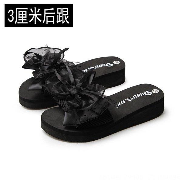 Black 3cm Heel