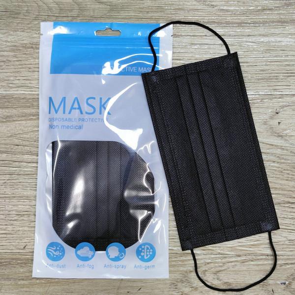 erwachsene schwarze Maske