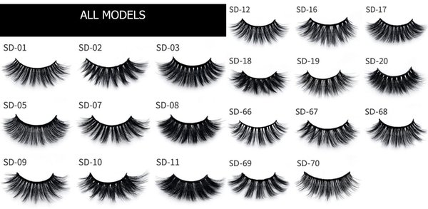 SD Lashes Please leave style NO.