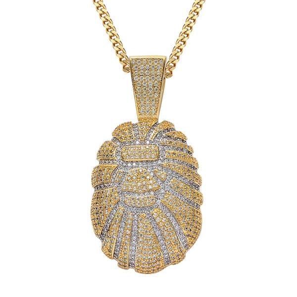 Gold 60cm kubanischen Kette