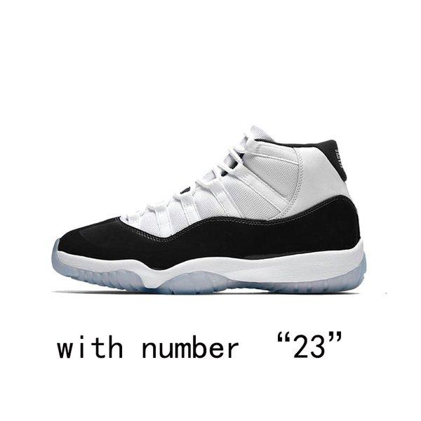 Concord con il numero 23