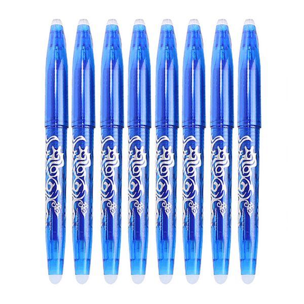 8pcs pluma azul - Set