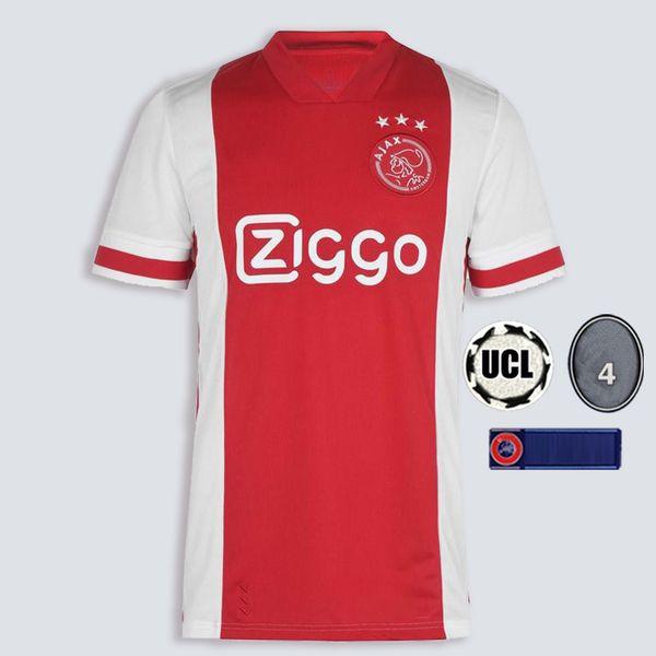 مشجعي اياكس الرئيسية 2021 مع دوري أبطال أوروبا