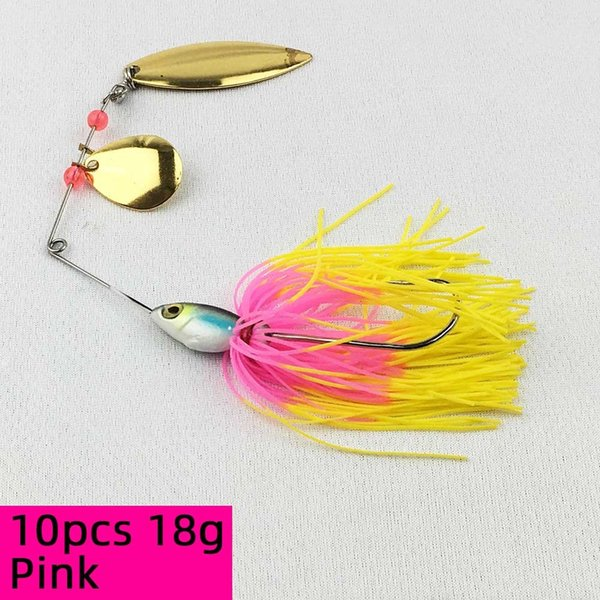 10pcs 18g Pink