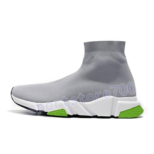 22. grey white green