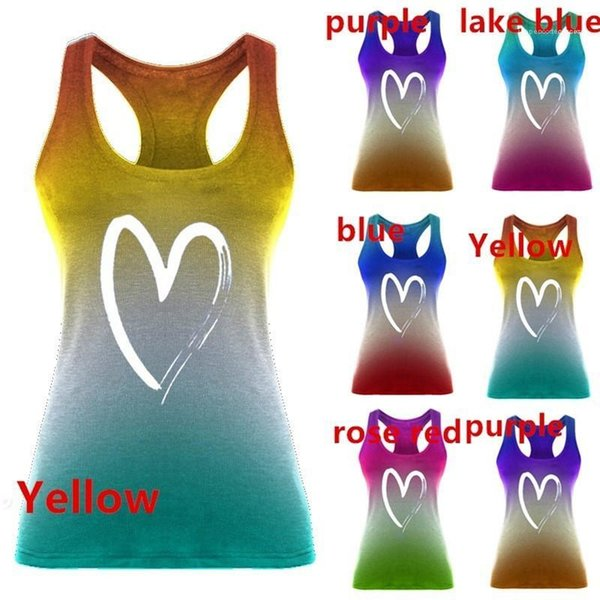 min female clothing summer womens designer plus size 5xl tshirts love printed sleeveless scoop neck, White