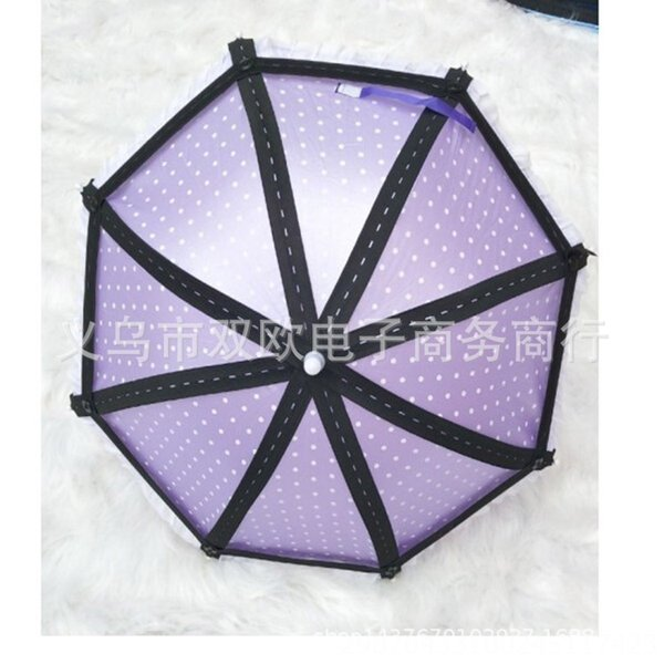 Púrpura 8-strand Umbrella