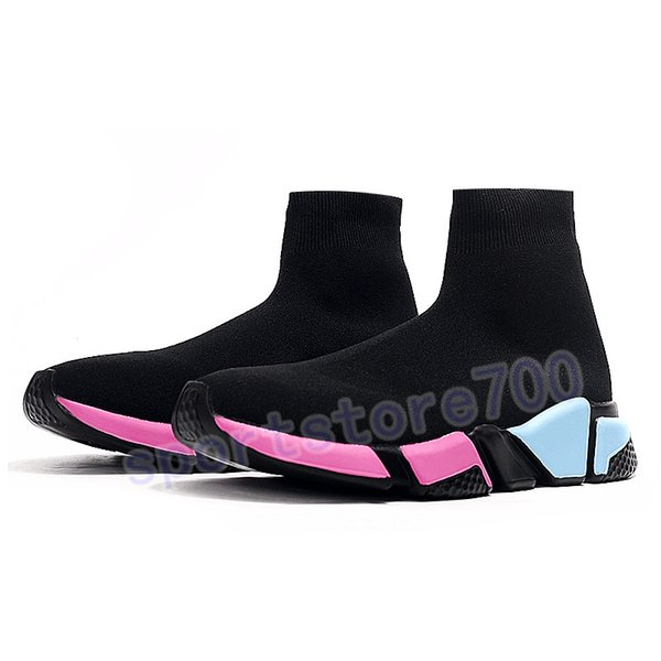 20. black pink blue