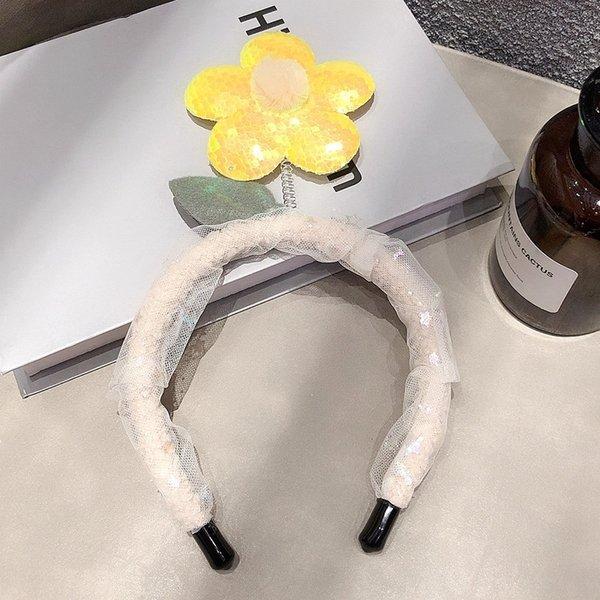 3 # Желтый Hairband