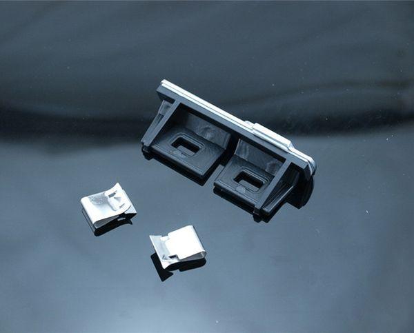 best selling Car-styling S Line Sline Front Grille Emblem Badge Chromed Plastic ABS -Front grille mount for A1 A3 A4 A4L A5 A6L S3 S6 Q5 Q7 Label
