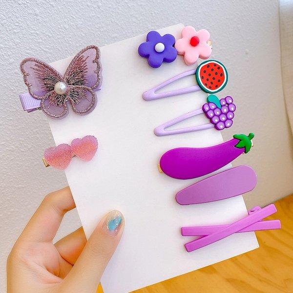 5 Purple # Set Raisin 8 pièces (sans voiture