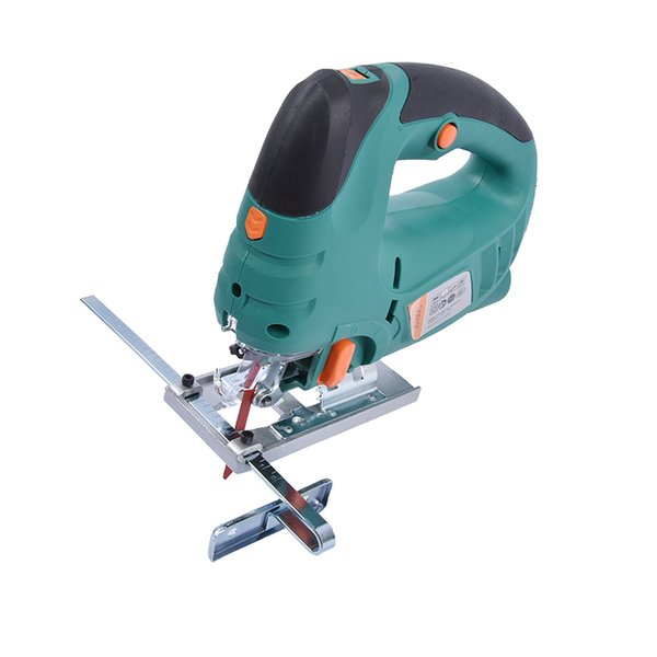 top popular JS100C Electric Curve Saw Multi-function Mini Home Laser Curve Saws Woodworking Tools Laser Chainsaw 220v 50Hz 800W 800-3000 min 2021