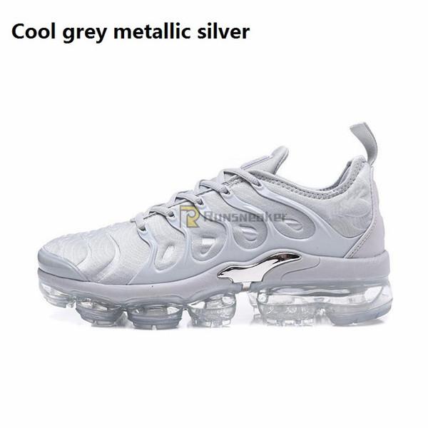Argent métallique gris cool