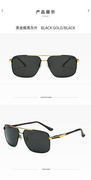 01 nero cornice d'oro grigio nero