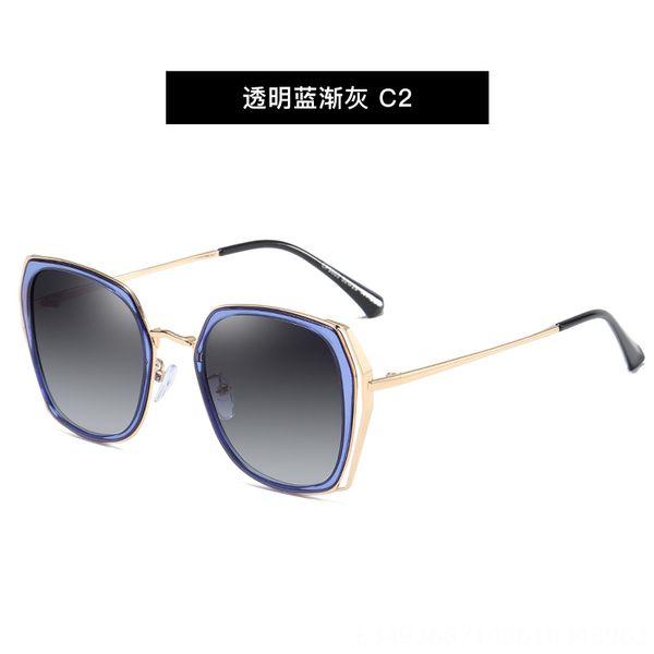 No2. Trasparente Blu Grigio C2-Cp9603