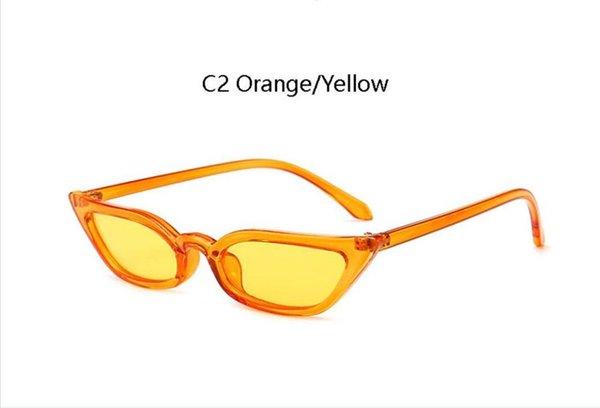 C2 оранжевый желтый