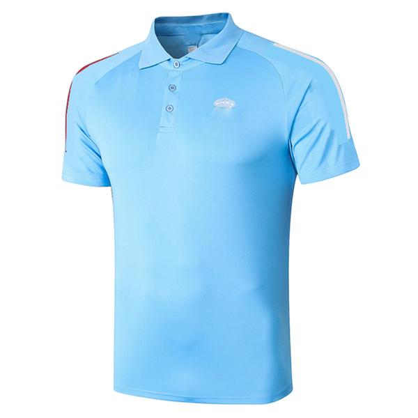 C511 # 2021 Blue Polo Top