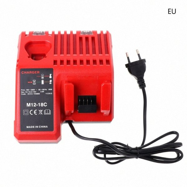 top popular M12-18C Li-ion Battery Charger For 10.8V 12V 14.4V 18V M12 M18 US EU Dls rBzl# 2021