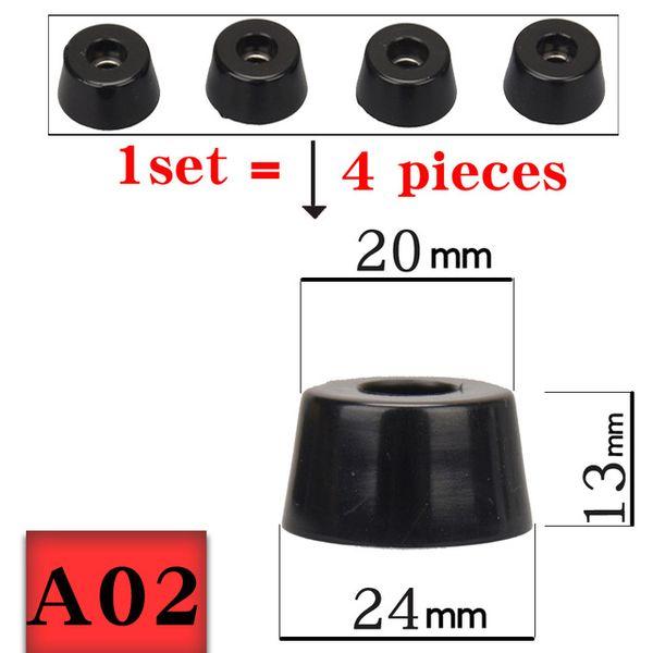 1 set (4 pezzi) - A02 M24-20-13