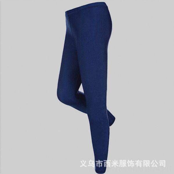 ЖХ-k507 Чистый синий брюки для мужчин
