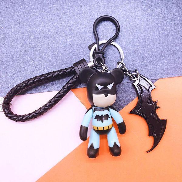 Batman + Noir + Bat Noir Corde en cuir