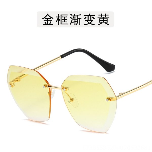 Gold Frame Gradient Yellow