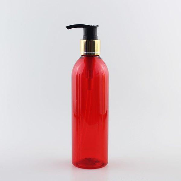 250мл Красный бутылки Черный ПЭТ