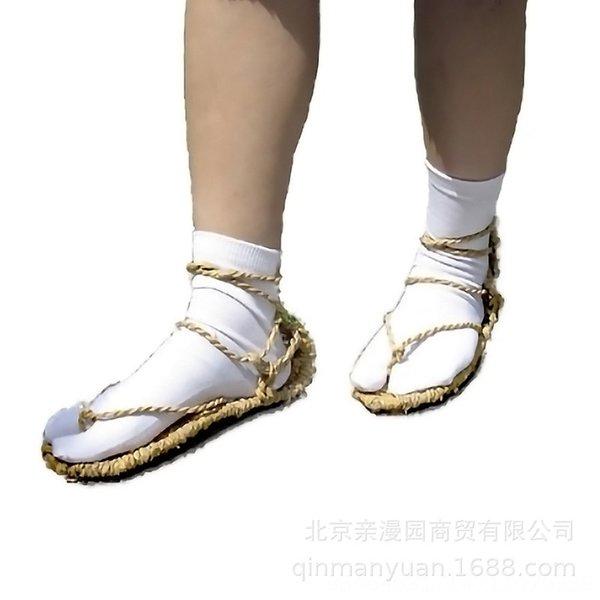 Comprar sólo en dos de dedo del pie Zapatos Calcetines + paja