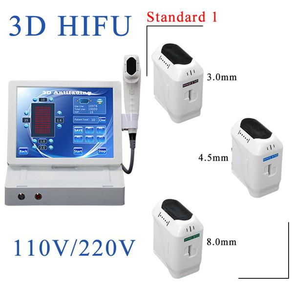 3D HIFU mit 3 Patronen