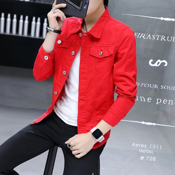 Solid Color Coat Red
