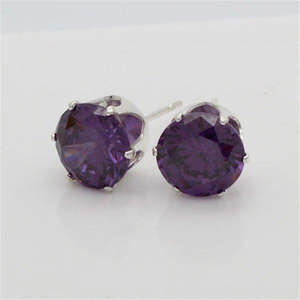 Фиолетовый Циркон-7 мм (мм)