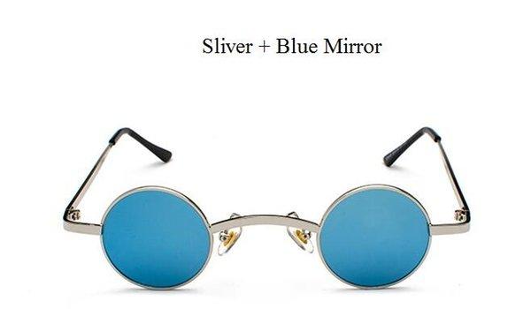 Sliver Blue Spiegel.