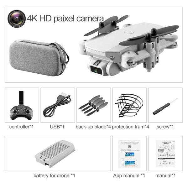 4K HD Storage bag packing white