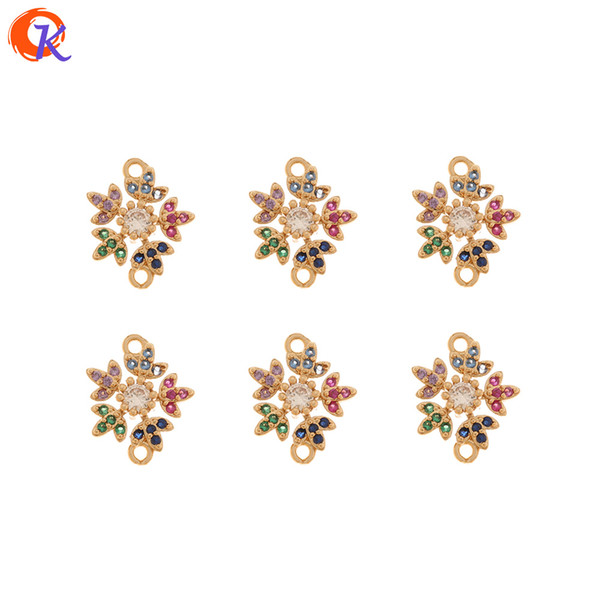 Cordial Design 50Pcs 12*14MM Jewelry Accessories/DIY Making/Hand Made/Flower Shape/Connectors/CZ Charms/Earring Findings T200808 Cordial Design 50Pcs 12*14MM Jewelry Accessories/DIY Making/Hand Made/Flower Shape/Connectors/CZ Charms/Earring Findings 1. Material: Copper 2. Place Of Origin: Made In China ( Mainland ) 3. Shipping Methods: By China Post Air, Hongkong Post Air, EMS, DHL...