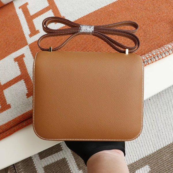 best selling In stock Fast Ship Top Quality CK18 CK37 CC89 Constance designer handbag purse genuine leather L flower shoulder crossbody bag Shopping Bag