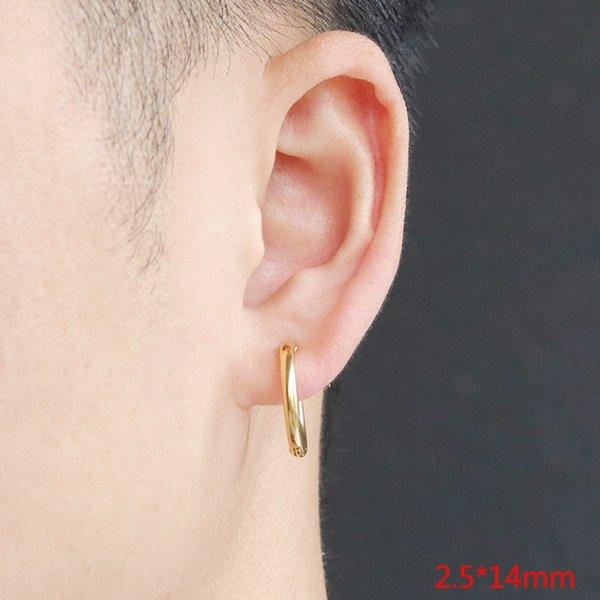 Oro oído clip 2.5x14 (individual)