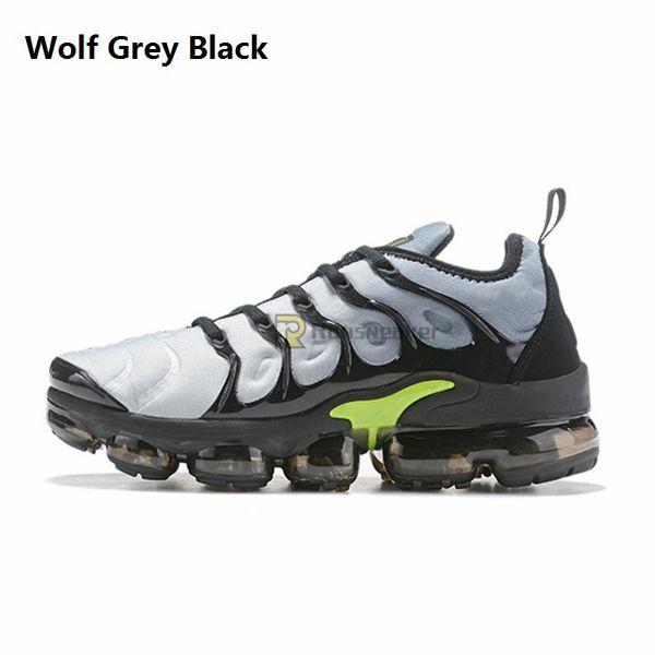 Loup gris noir
