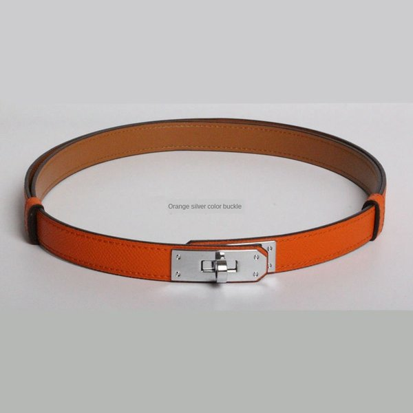 1Pcs_#Orange/Sliver buckle_ID915058