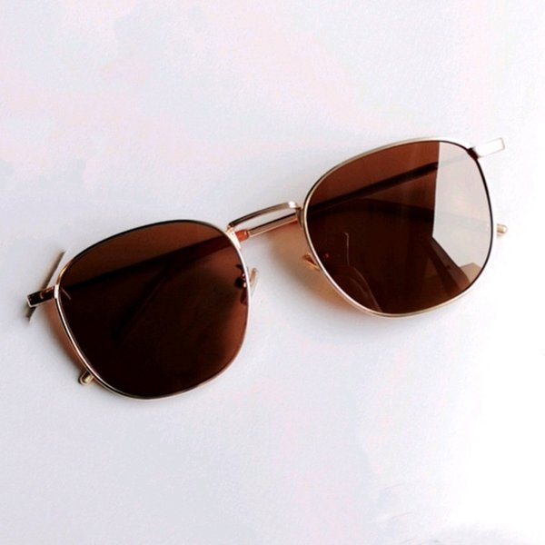 Gold Frame Polarized thé tranche