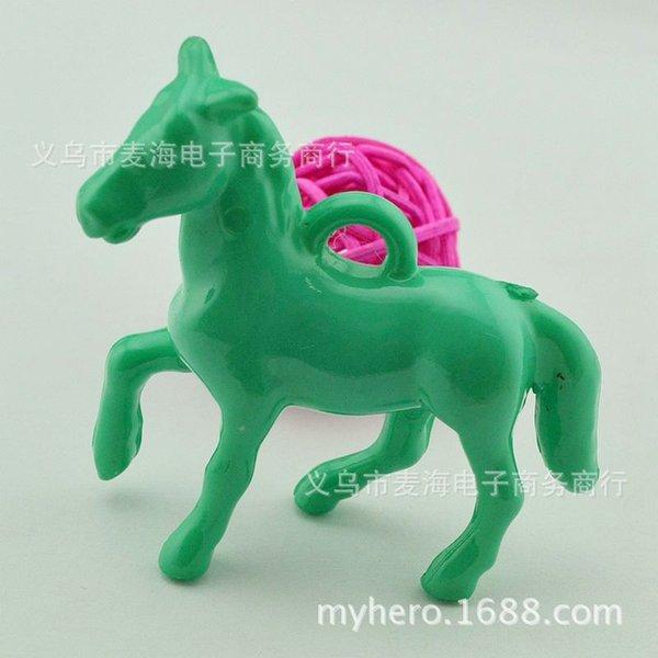 # 17 Lago Verde Oscuro-40 x 46 mm Pony