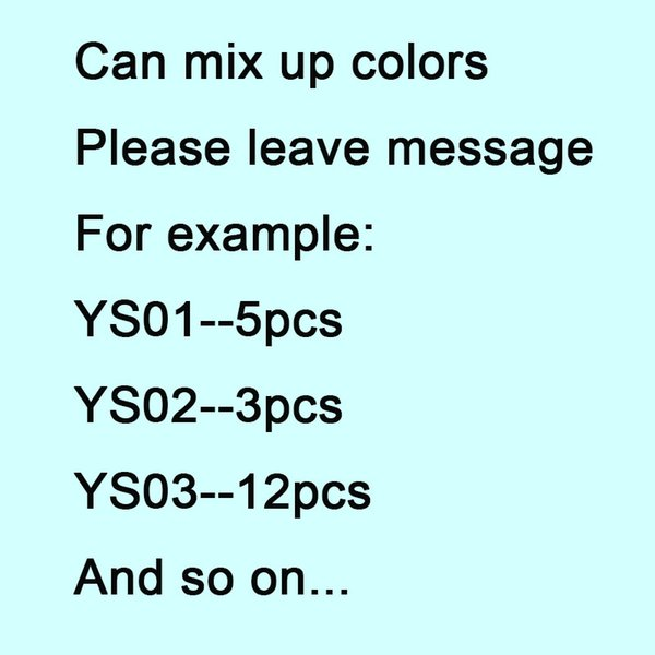color de la mezcla