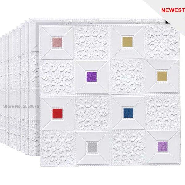 colorful-10pcs70x70x0.3cm