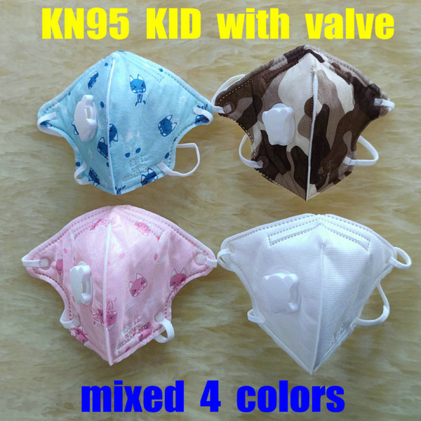 kids mixed 4 colors with valve
