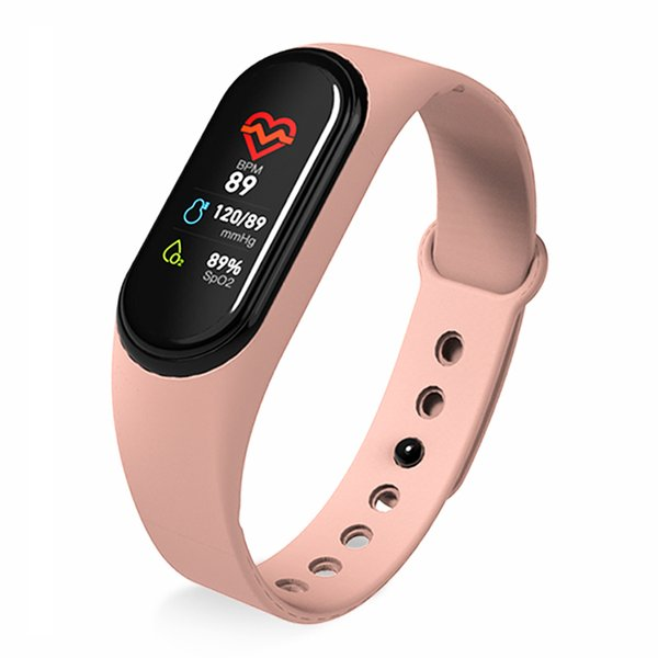 M4 smart colore rosa dell'orologio
